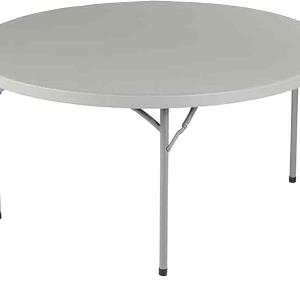 Table ronde 8 personnes de 152cm