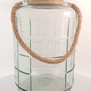 Lanterne en verre