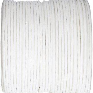 Papier cordon laitonné blanc